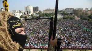 Thousands march in Gaza in support of Islamic Jihad