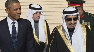 أوباما يلتقي الملك سلمان في الرياض عشية القمة الخليجية