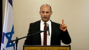 Bennett asks Trump team to reject two-state solution