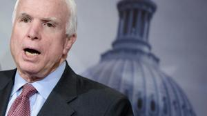 'That's how dictators get started': McCain denounces Trump tirades against press