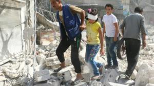 """دول الخليج تأسف لعدم التحرك الدولي حيال حلب والاتحاد الأوروبي يدين """"جرائم حرب"""""""