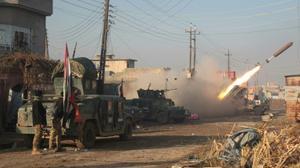 القوات العراقية تتقدم نحو نهر دجلة في الموصل