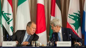 كيري: نحن على وشك قطع العلاقات مع روسيا بشأن سوريا