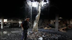 واشنطن تراجع دعمها للتحالف العربي بعد قصف الامس في صنعاء