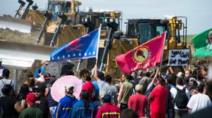 Exclusive: On the Dakota Access Pipeline frontline with the Native Nations