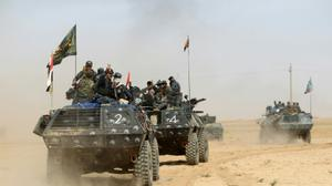 Iraqi forces 'ahead of schedule' in push to retake IS stronghold Mosul