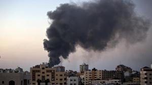 Israel strikes targets in Gaza in response to cross border fire