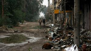 عشرات القتلى في صفوف المسلحين بدير الزور ووادي بردى
