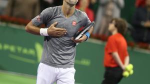 Tennis: Djokovic ends Murray's 28-win streak in Qatar triumph