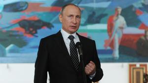 بوتين يتهم فرنسا بالسعي لتصعيد الوضع بخصوص سوريا