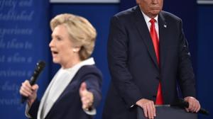 Clinton warns Trump is 'threatening' US democracy