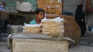 قصف جوي عنيف في حلب والمشافي تضيق بالجرحى