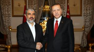 Erdogan meets Hamas leader as Ankara inches closer to deal with Israel