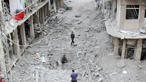 Civilian casualties of explosive weapons rose 50 percent in five years: report