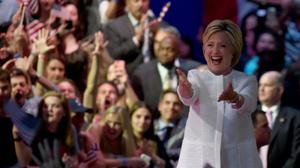 L'investiture historique d'Hillary Clinton