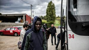 2,318 migrants evacuated from 'Jungle' camp Monday: French Interior Minister