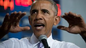 Obama calls for 'big' win to repudiate 'dangerous' Trump