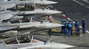 Frappes contre l'EI en Irak et en Syrie depuis le Charles de Gaulle
