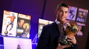 Ronaldo, personnalité de l'année selon le Fan club palestinien du Real Madrid