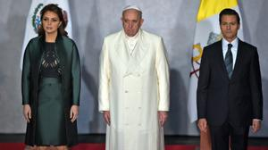 Pope tells Mexico leaders nation needs 'true justice'