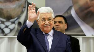 """Mahmoud Abbas affirme qu'il est """"impatient de travailler"""" avec Trump"""