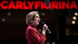 Former Hewlett-Packard boss Fiorina ends White House bid