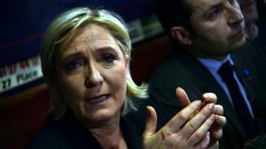 """A Beyrouth, Marine Le Pen plaide pour """"resserrer"""" les liens franco-libanais"""