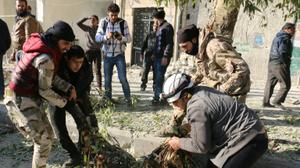 11.5% of population killed or injured in Syria conflict, report finds
