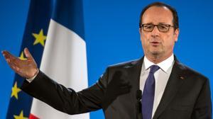 """Hollande vante des résultats """"impressionnants"""" contre Daech"""