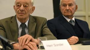 Auschwitz survivor confronts SS guard at trial: 'We'll both face highest judge'