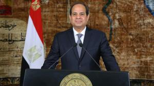 Trump committed to military assistance for Egypt: White House