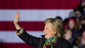 Confident Clinton says she will no longer respond to Trump attacks
