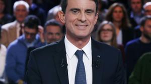 Primaire: 36% des sympathisants de gauche en faveur de Manuel Valls