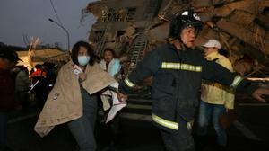 Thirteen dead after powerful Taiwan quake fells buildings