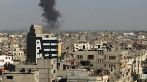Israel strikes Gaza targets in response to earlier rocket fire