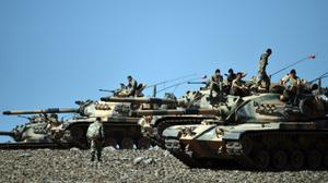 Turkey strikes Kurdish-held areas of Syria's Aleppo