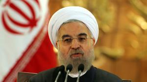 """L'Iran ne veut pas de """"tensions"""" dans le monde musulman, assure Rohani"""