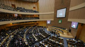 Morocco's king attends AU summit for first time in 33 years