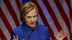 Clinton warns of danger of fake news 'epidemic'