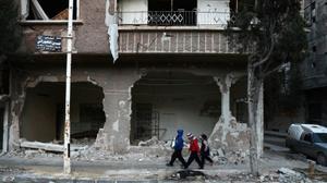 ثمانية قتلى معظمهم مدنيون في غارات على شمال غرب سوريا