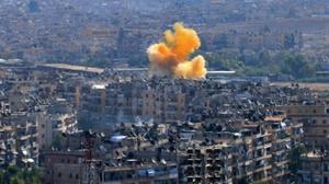 تجدد الإشتباكات في شرق حلب وسماع دوي قصف مدفعي