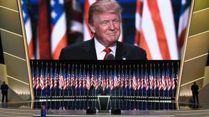 Donald Trump accepte sa nomination et promet à l'Amérique ordre et sécurité