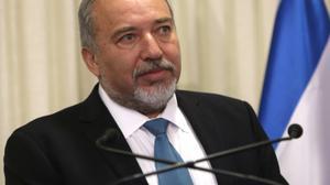 """""""Une solution à 2 Etats avec échanges de terres et de population"""" (Lieberman)"""