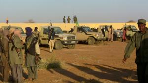Mali suicide attack kills at least 50 fighters