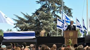 World leaders bid farewell to 20th-century 'giant' Shimon Peres