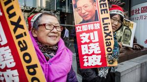 Beijing angered by US bill to name Chinese embassy plaza after Chinese dissident
