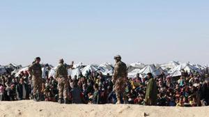 عشرات الاصابات جراء انفجار في مخيم الركبان على الحدود السورية مع الاردن