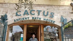 The Nazareth country club where Jesus bathed?