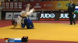 Israeli Judoka wins gold at Azerbaijan's Baku Grand Slam