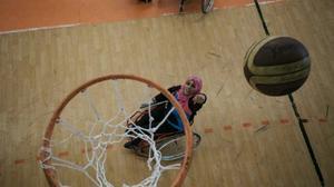 A Gaza, les grandes espérances de l'équipe de basket paralympique féminine